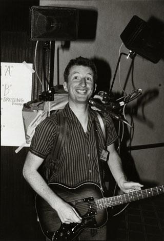 Billy Bragg circa 1980 © Joe Stevens