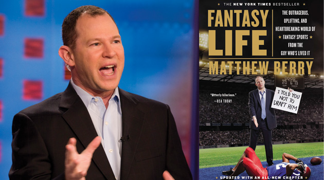 Fantasy Football Guru Matthew Berry Tells (Almost) All: Coming to the Loft August 19th