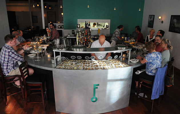 Celebrate happy hour all year at Franklin Oyster House