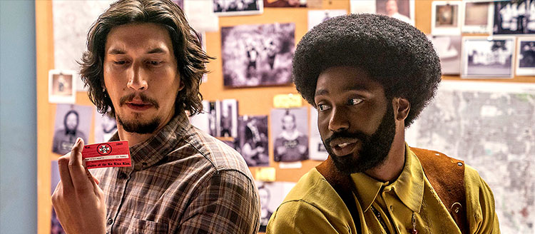 Show & Tell: BlackKklansman