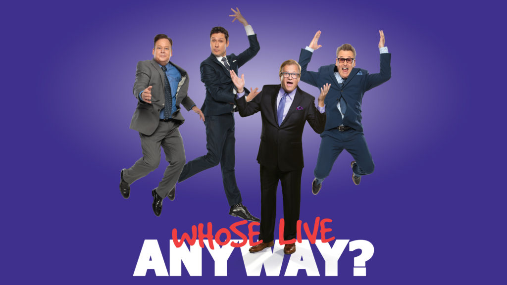 whose live anyway with drew carey the music hall