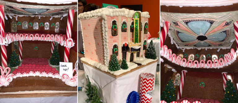 The Belle of the Ball: A Gingerbread Music Hall!