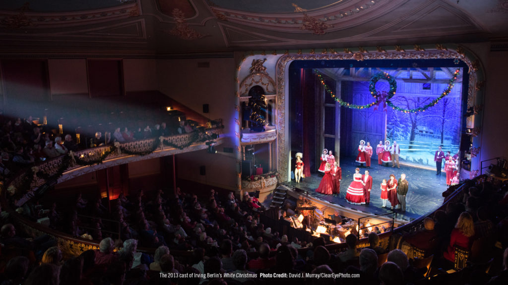 White Christmas Music 2020 Irving Berlin's White Christmas 2021 | The Music Hall
