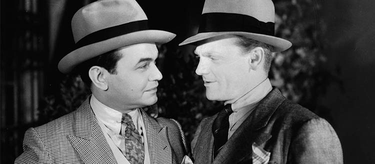Classic Hollywood: Bad Boys: Cagney & Robinson