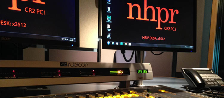 NHPR's Innovation Brings News, Art, and Authors