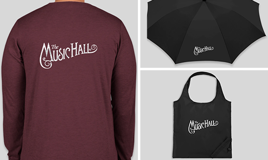 Support The Music Hall in Style!