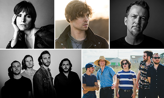 Live Under The Arch: Acts coming in July!