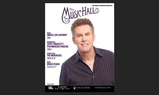 October/Mid-November 2021: Music Hall Digital Magazine
